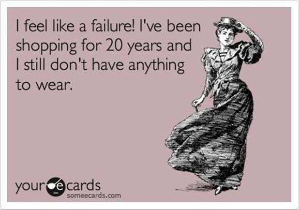 I feel like a failure