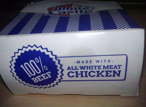 White meat beef