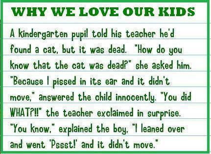 Why we love our kids