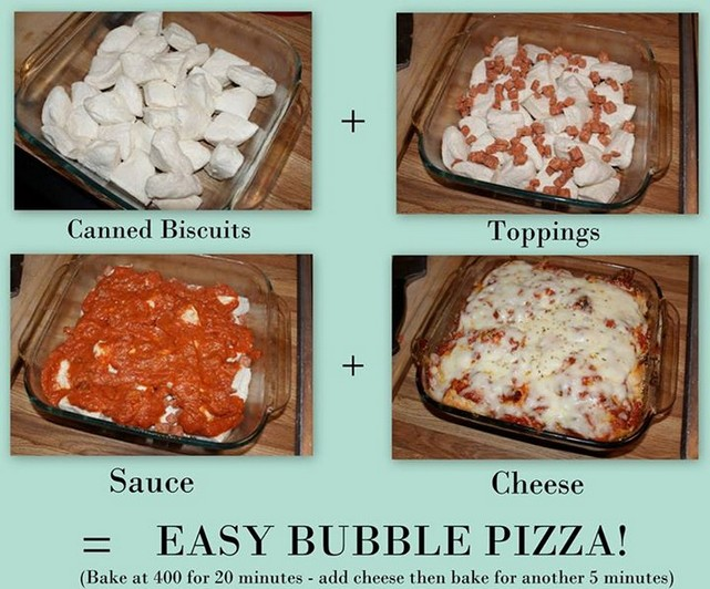 Bubble pizza