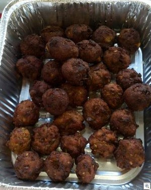 Turkey hush puppies