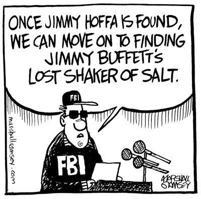Hoffa found