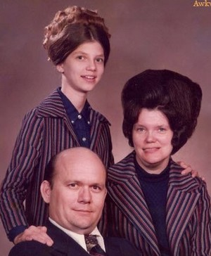 Weird family photos