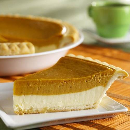 Pumpkin Cheesecake Pie – Bits and Pieces