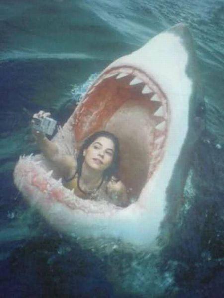 The ultimate selfie