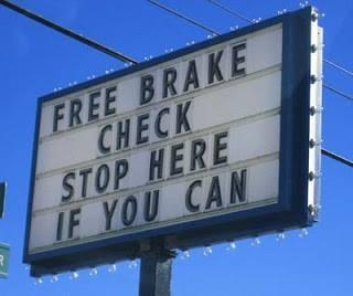 Free brake check