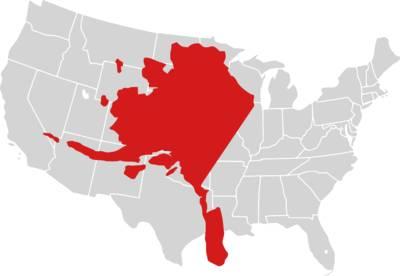 How big is Alaska Bits and Pieces