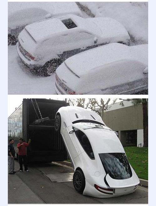 Oops snow