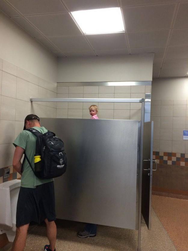 Gay Bathroom Stall