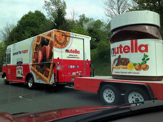 Nutella for the entire neigborhood