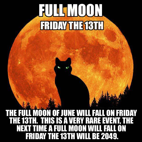 full moon froday 13 friday the 13th full moon bits and pieces