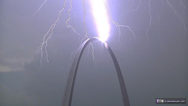 Arch lightning1