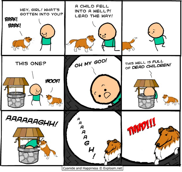 Lassie gone bad