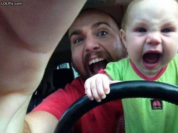 Road rage starts early