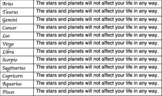 Your horoscope for the week
