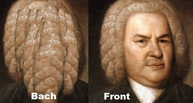 Bach and front