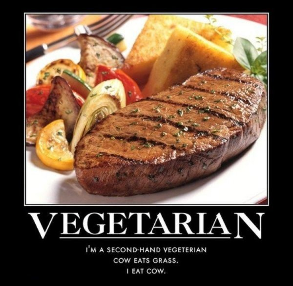 Second-Hand Vegetarian