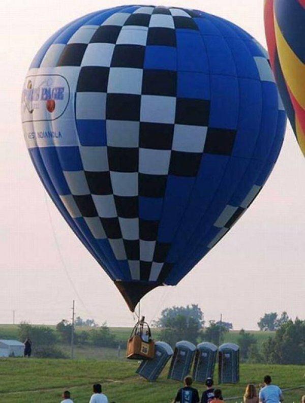 Hot air ballon oops