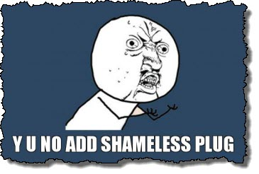 Shameless plug
