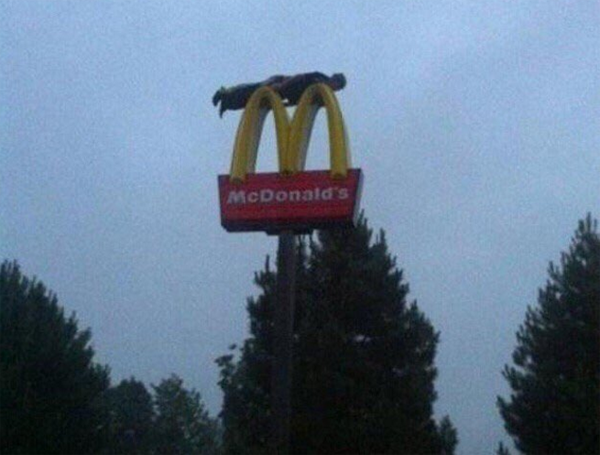 Meanwhile, at McDonalds
