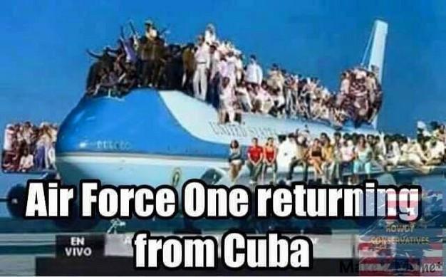Prez Goes Home