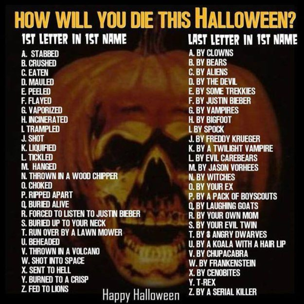 how-will-you-die-this-halloween