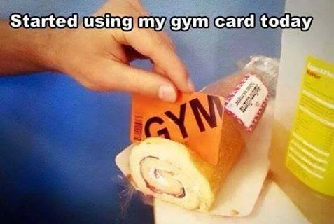 started-using-my-gym-card-today